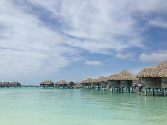 Four Seasons Resort Bora Bora:                   Overwater Bungalows