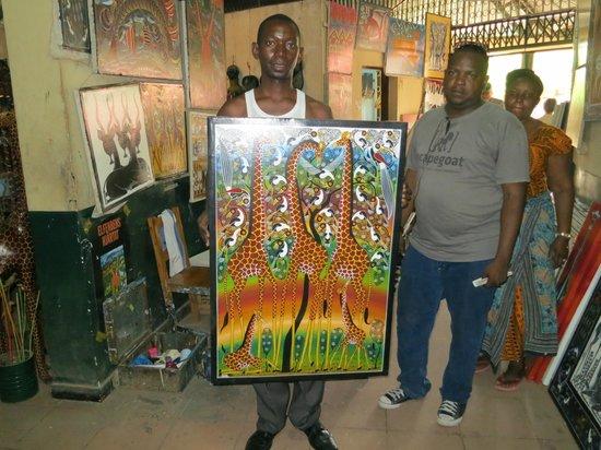 Nyumba ya Sanaa:                   Tinga Tinga artwork