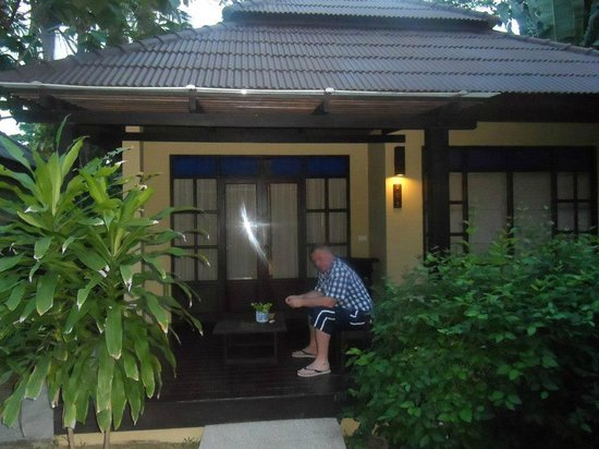 Peace Resort:                   our porch