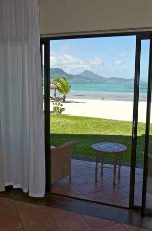 Preskil Beach Resort:                                                       Vue de notre chambre