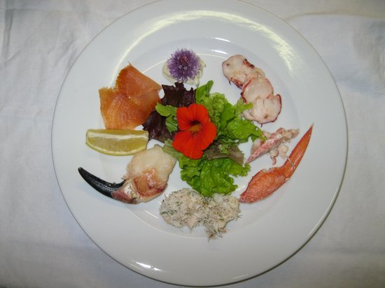 Delphi Lodge Country House: Seafood a Speciality