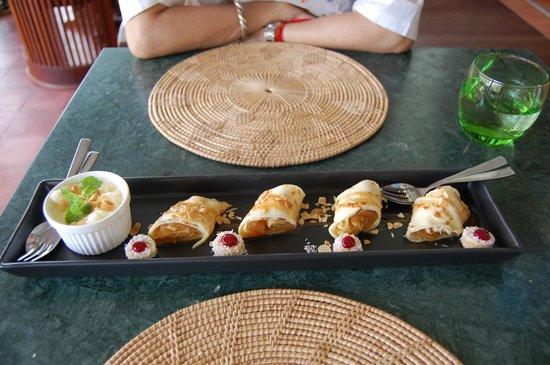 Cassia Restaurant :                   crepes dessert