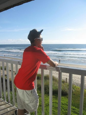 Surfside Resort:                   Enjoying the view, June 2012