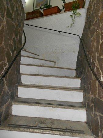 Hotel Giubileo:                   Stairs