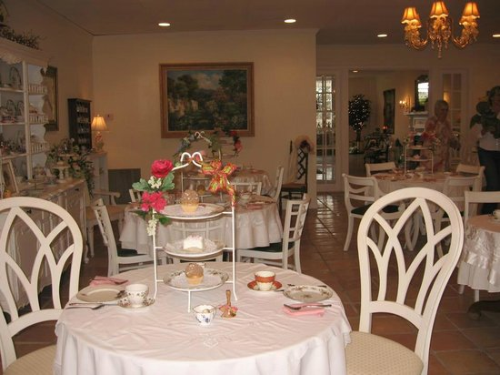 Madison Tea Room and Garden:                   Great for special occassions