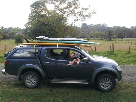 Costa Rica Stand Up Paddle Boarding:                   Our Pickup