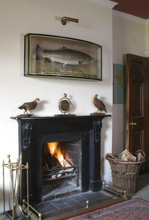 Delphi Lodge Country House: Cosy log fires