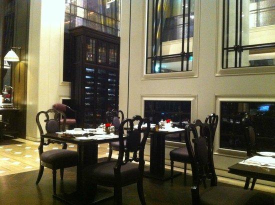 ذا فوليرتون باي هوتل:                   restaurant                 