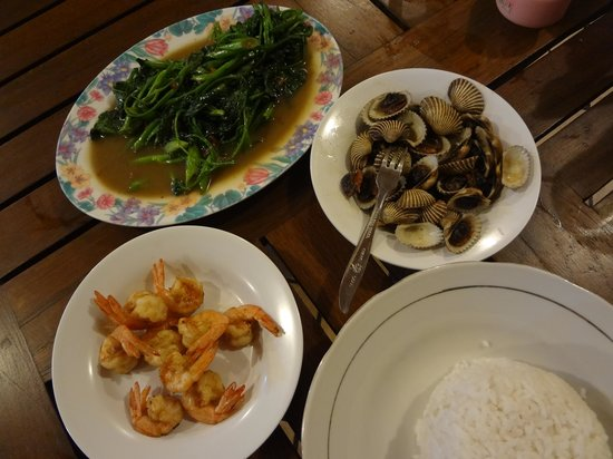 Warung Cak Sule:                   Menu