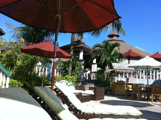 Mangosteen Resort & Ayurveda Spa:                   Poolside