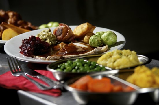 Rose and Crown Hotel: sunday lunch