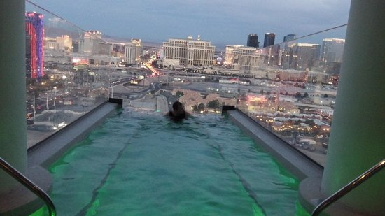 Palms Casino Resort:                   private pool