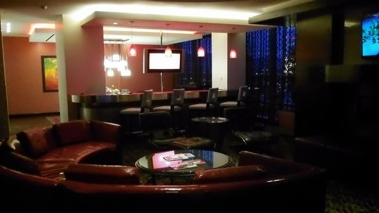 The Palms Casino Hotel:                   living room area