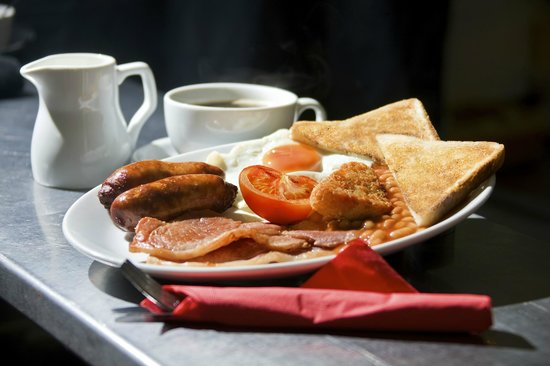 Rose and Crown Hotel: breakfast