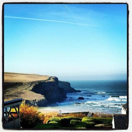 The Surf Club Cornwall: A beautiful day in February 2013