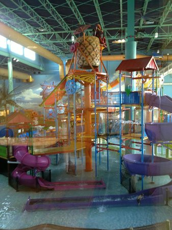 KeyLime Cove Indoor Waterpark Resort:                   View from the Conference Room
