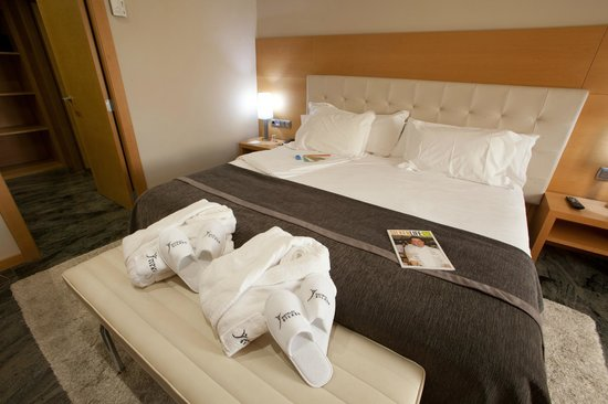 Hotel Silken Siete Coronas : SUITE