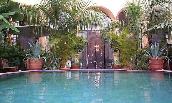 Los Arcos Bed & Breakfast: Relax in pool
