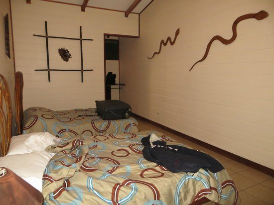 Evergreen Lodge:                   chambre où il fait bon dormir !