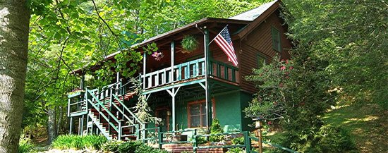 Valle Crucis Bed & Breakfast: Front of B&B