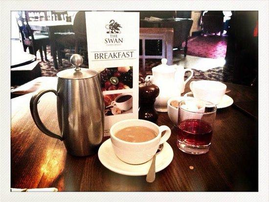 The Swan Tarporley:                   Breakfast
