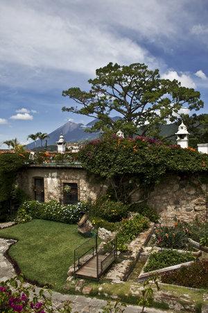 Hotel Posada de Don Rodrigo: Restaurant Garden