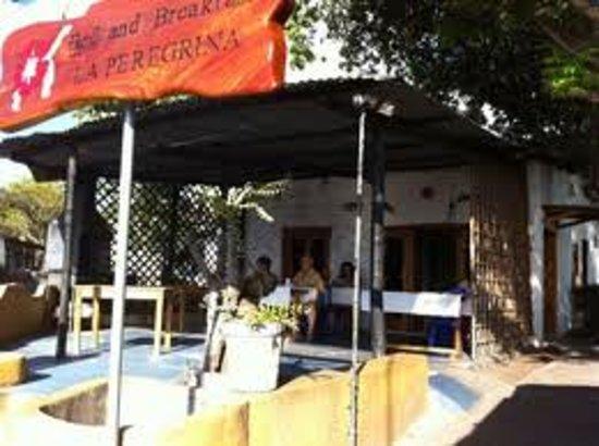 La Peregrina:                                                       piscina del hotel la perengrina