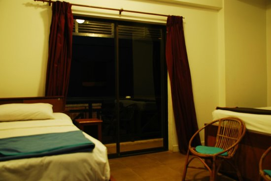 The Siem Reap Hostel:                   Room - balcony, queen & twin beds