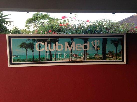 Club Med Turkoise, Turks & Caicos:                   Entrée