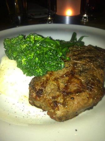 Steak & Sushi:                   New york Steak EXCELLENT