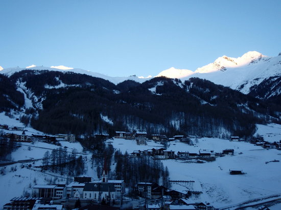 Pension Andreas:                                                                         Morning View from the Ro