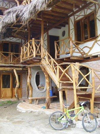 Hotel Rutamar: Vista desde abajo