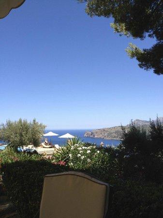 Hotel Sa Pedrissa:                   view from the hotel