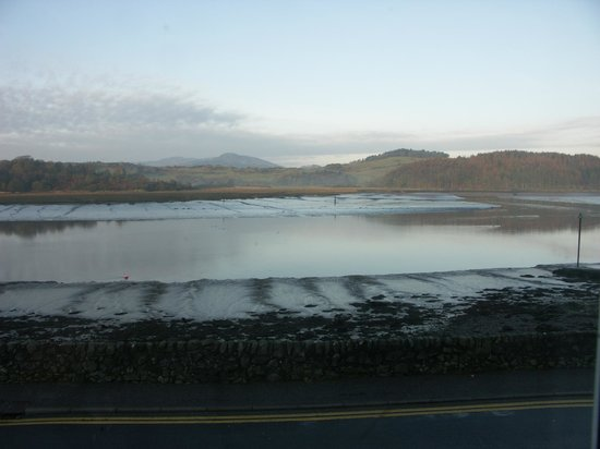Anchor Hotel at Kippford:                                     View from Bedroom Window