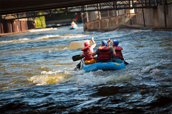 South Bend, Индиана:                   East Race Waterway