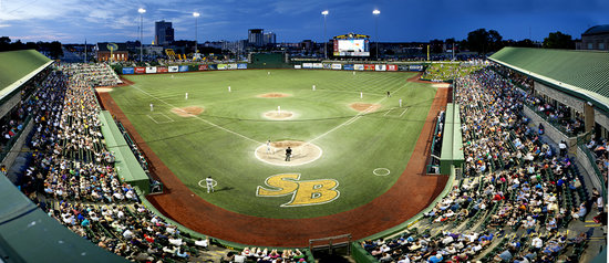 Coveleski Regional Stadium, South Bend Silver Hawks