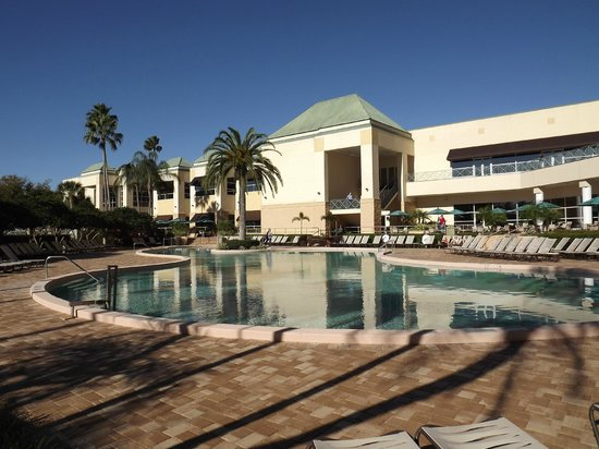 Rosen Plaza Hotel:                   Pool area