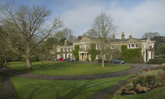 Harptree Court:                   front of house