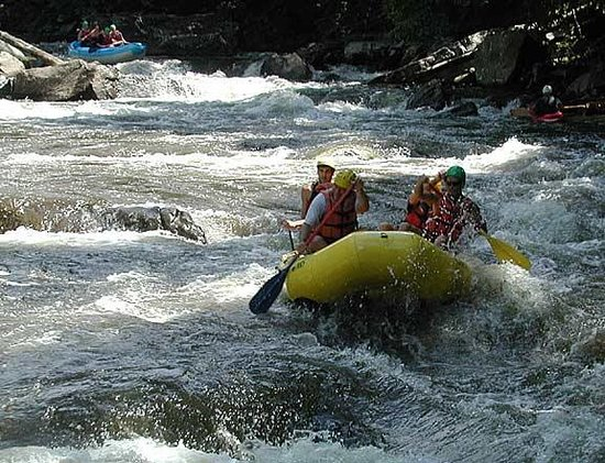 North Glade Inn: Whitwater rafting