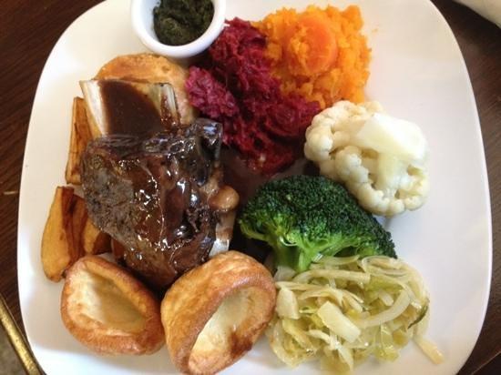 The Major:                   herdwick lamb dinner