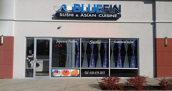 Photo of Restaurant Bluefin Sushi & Asian Cuisine at 1102 Baltimore Pike, Glen Mills, PA 19342, United States
