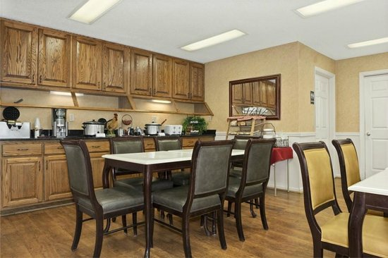 Days Inn Americus: Breakfast Room