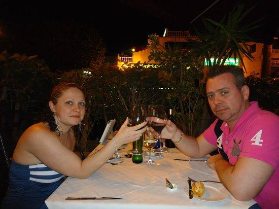 Jardin del Sol :                                     Beautiful evening with my Beautiful Princess