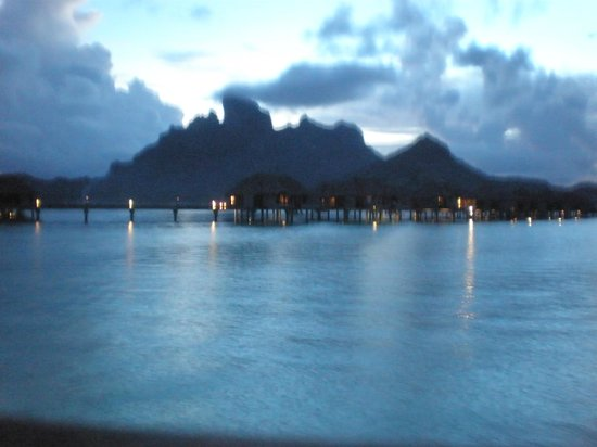 Four Seasons Resort Bora Bora:                   View from Property