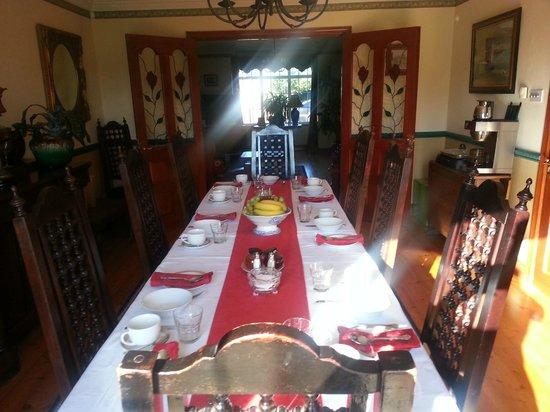 Beach Lodge: breakfast room