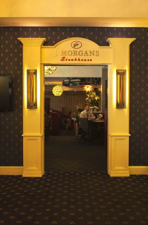 J Morgan's Steakhouse: J. Morgan's Lobby Entrance