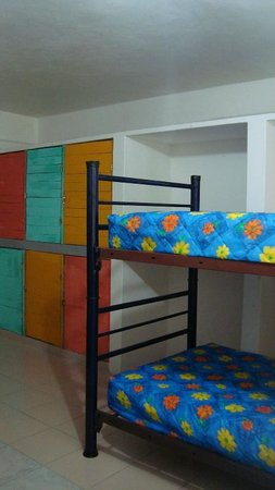 La Posada Chetumal Hostel:                   lockers