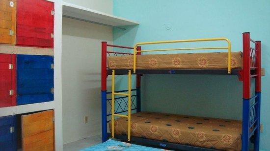 La Posada Chetumal Hostel:                   bunks