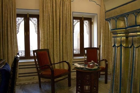 The Raj Palace Grand Heritage Hotel:                   Room