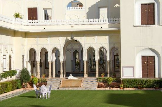 The Raj Palace Grand Heritage Hotel:                   More gardens